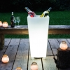 Cubitera luminosa led 'Amsterdam', luz 16 colores