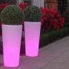 Macetero con luz led, RGB, recargable, Vigo