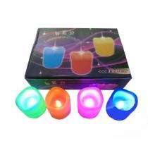 Velas led, caja 12 unidades