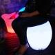 Puff Taburete led, RGB, recargable