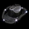 Sombreros fiesta Led Cowboy Negro