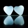 Globos Led, corazón, blanco